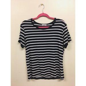 Ultra Flirt stripped shirt, size M.
